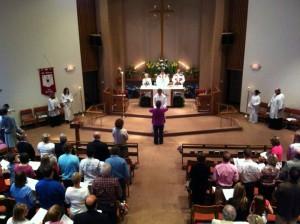 Eucharistic Visitor Photo