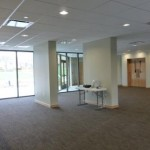 Expansive new narthex!