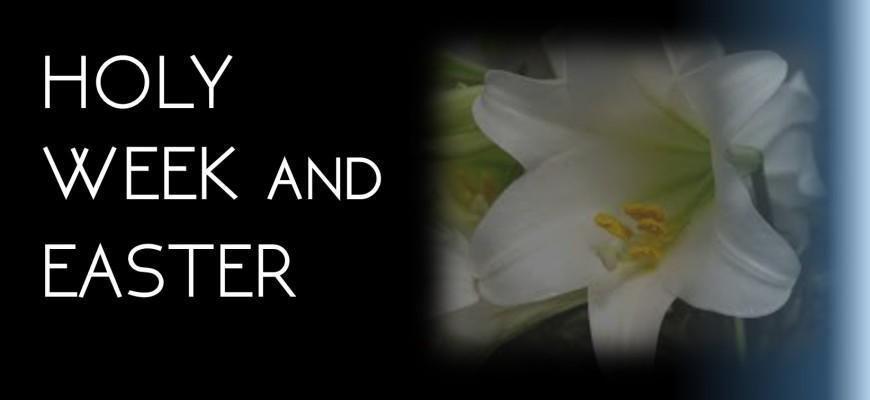 Holy Week & Easter 2015 for slider