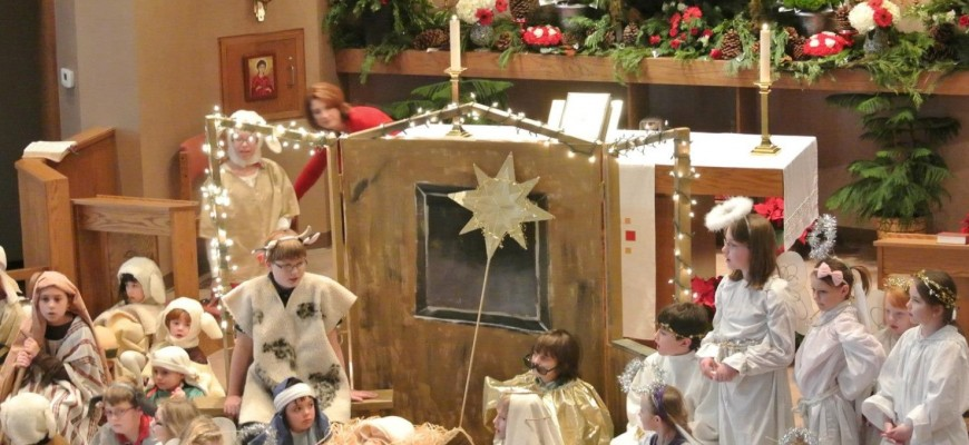 Christmas pageant pic