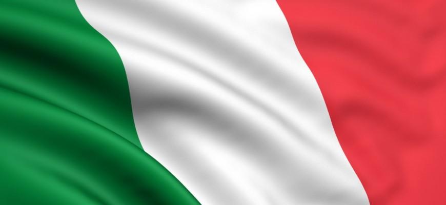 Italy flag for slider